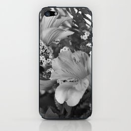 Freesia 3 B&W iPhone Skin