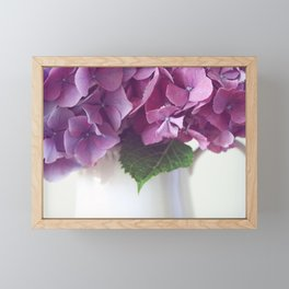 Daydreams in Hydrangea Framed Mini Art Print