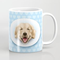 happy dog Mug
