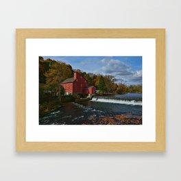 The Red Mill  Framed Art Print
