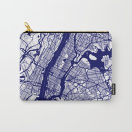 New York City Map 02 Carry-All Pouch