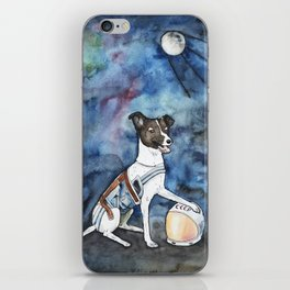 Our hero, Laika iPhone Skin