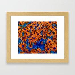 Magic Flowers Framed Art Print