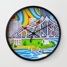 Brisneyland Wall Clock