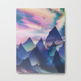 Opalescent Metal Print