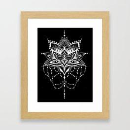 Mandala Roelie Negatief Framed Art Print