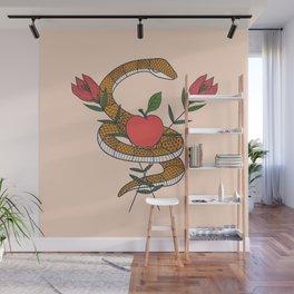 Serpent of Eden Wall Mural