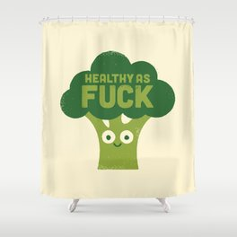 Raw Truth Shower Curtain