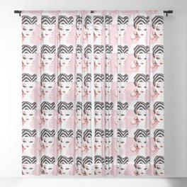 Classic Barbie Sheer Curtain