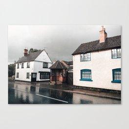 Rainy day in Derbyshire Canvas Print