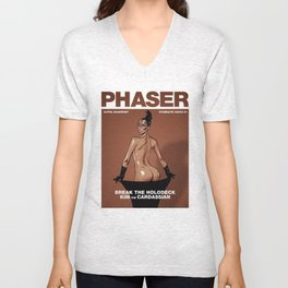 Phaser Magazine Cover Unisex V-Neck