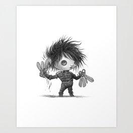Lil Edward Art Print