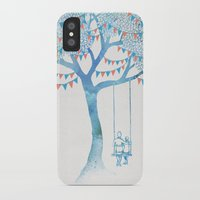 friends iPhone & iPod Cases featuring The Start of Something by David Fleck