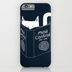 Mind Control For Cats (dark blue) Slim Case iPhone 6s