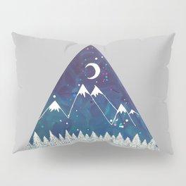 Wanderlust Mounations Pillow Sham