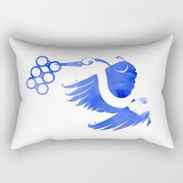 Heron (Keep it clean) Rectangular Pillow