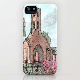 Greyfriars Tower iPhone Case