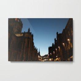 The Blur of Edinburgh. Metal Print