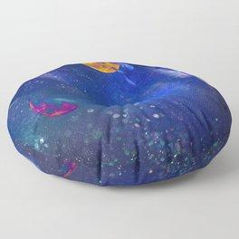 Moon Galaxy Floor Pillow