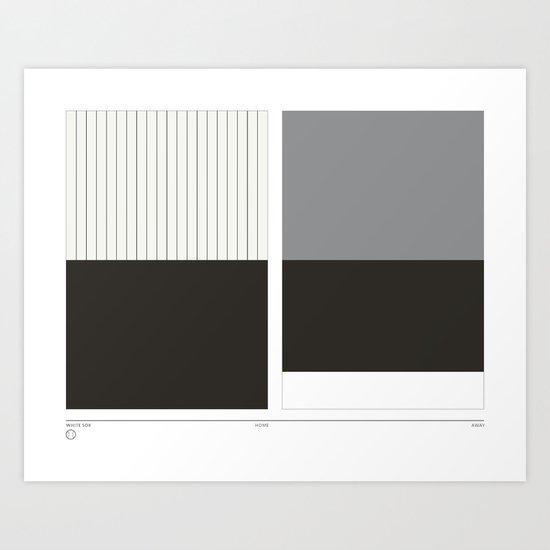 Home&Away White Sox Art Print