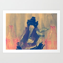 Dormant God 2 Art Print