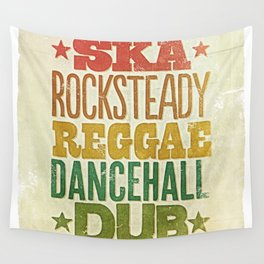 Shades of Reggae Wall Tapestry