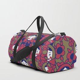 russian matrioshka pattern Duffle Bag