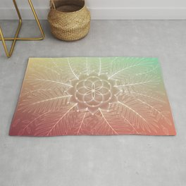 Supernova | Visionary art Rug