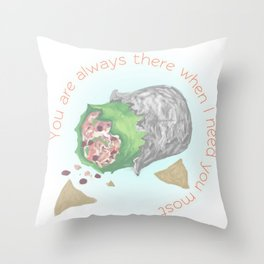 Burrito Love Throw Pillow