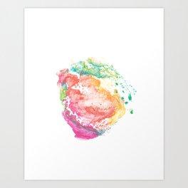 abstract watercolor 13 Art Print