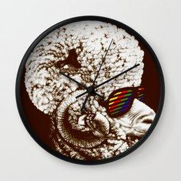 Funky sheep Wall Clock