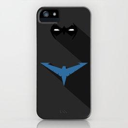 Nightwing Minimal iPhone Case
