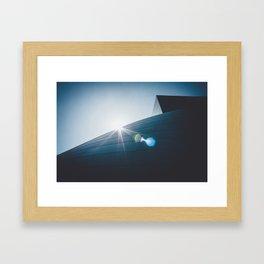 Symphonic Sunrise Framed Art Print