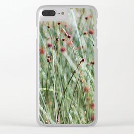 Juncos Clear iPhone Case
