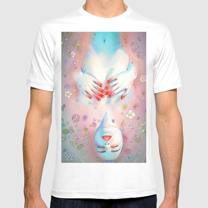 Flower Bath 5 T-shirt