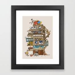 The Dog House Framed Art Print