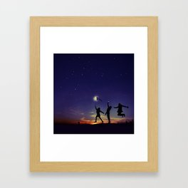 Friendship is the greatest adventure of all Framed Art Print