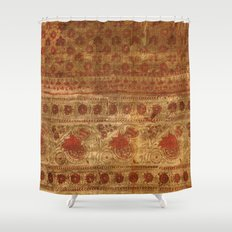 Indian textile Shower Curtain