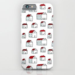 Tiny House Doodle iPhone Case