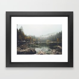Serenity - Landscape Photography Framed Art Print