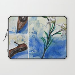 Flowers and shoe  Laptop Sleeve