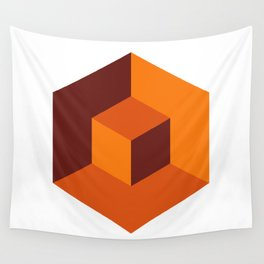 Cube Wall Tapestry