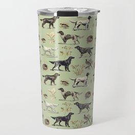 Bird-dog pattern Travel Mug