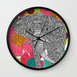 In Groveland Wall Clock