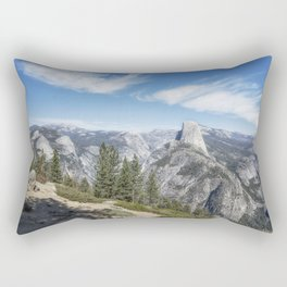 Half Dome from Washburn Point Rectangular Pillow