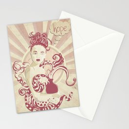 Pandora lost an eye Stationery Cards