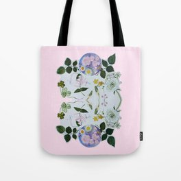 Flower Moon Tote Bag