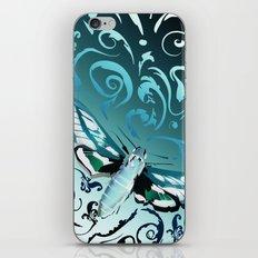 Tangled moth iPhone & iPod Skin