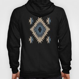 Santa Fe Southwest Native American Indian Tribal Geometric Pattern Hoody