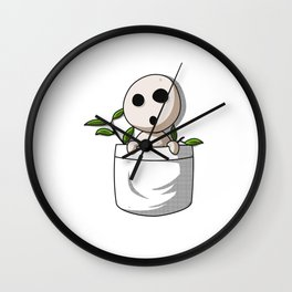 Kodama pocket Wall Clock